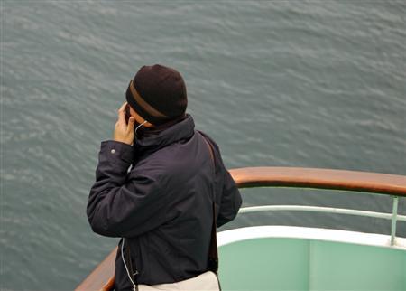 A Ninja On A Boat
